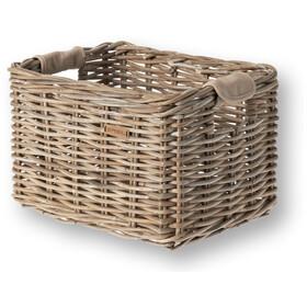 Basil Dorset M Bicycle Basket, nature grey